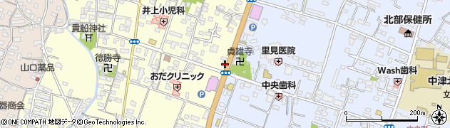大分県中津市上宮永433周辺の地図