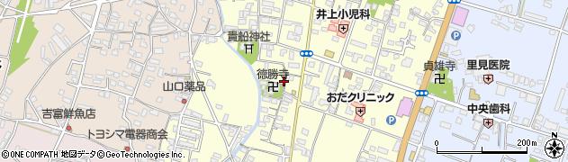 大分県中津市上宮永1098周辺の地図