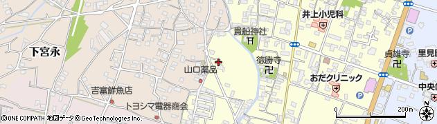 大分県中津市上宮永1205周辺の地図