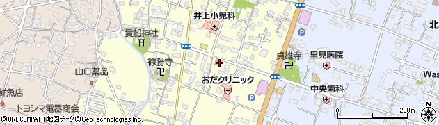 大分県中津市上宮永261周辺の地図