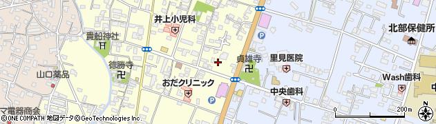 大分県中津市上宮永1257周辺の地図