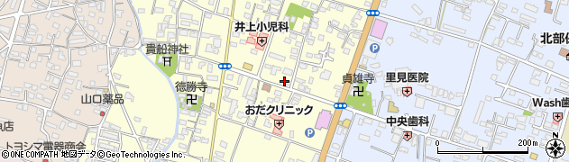 大分県中津市上宮永260周辺の地図