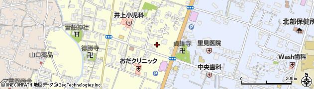 大分県中津市上宮永254周辺の地図