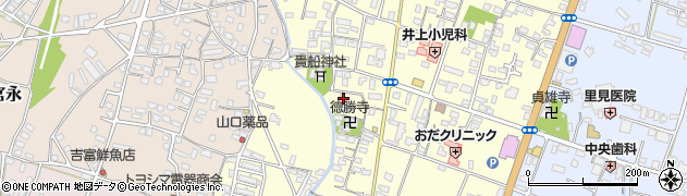 大分県中津市上宮永1106周辺の地図