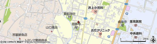大分県中津市上宮永1110周辺の地図