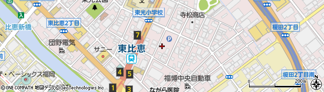 福岡県福岡市博多区東比恵3丁目17 5 住所一覧から地図を検索 マピオン