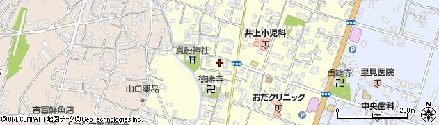 大分県中津市上宮永1119周辺の地図