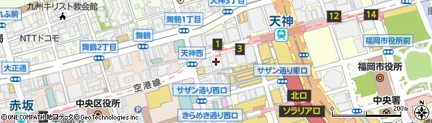 住友生命保険相互会社 福岡支社・博多駅前支部周辺の地図