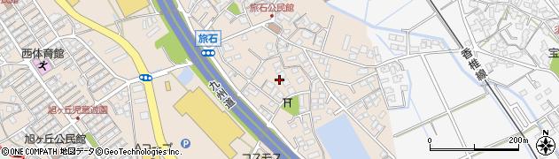 旅石ハイツ周辺の地図