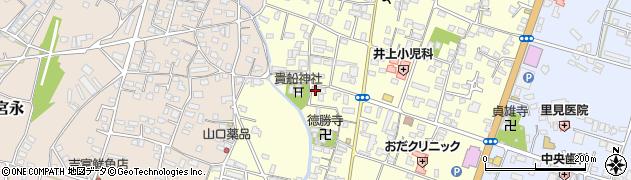 大分県中津市上宮永1127周辺の地図