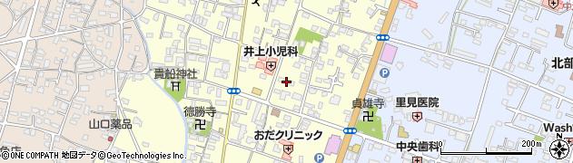 大分県中津市上宮永258周辺の地図
