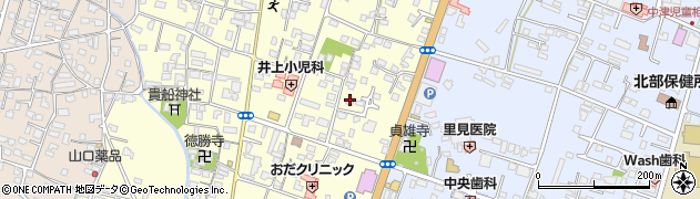 大分県中津市上宮永243周辺の地図