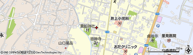 大分県中津市上宮永1129周辺の地図