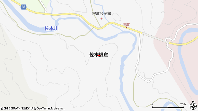 〒649-3168 和歌山県西牟婁郡すさみ町佐本根倉の地図