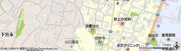 大分県中津市上宮永1137周辺の地図