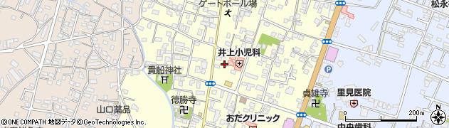 大分県中津市上宮永10周辺の地図