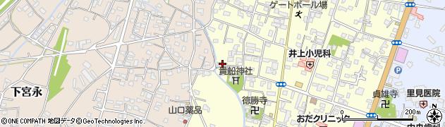 大分県中津市上宮永1143周辺の地図