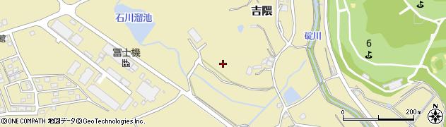 福岡県桂川町(嘉穂郡)吉隈周辺の地図
