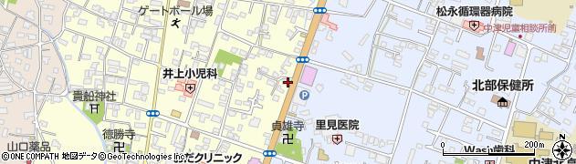 大分県中津市上宮永442周辺の地図