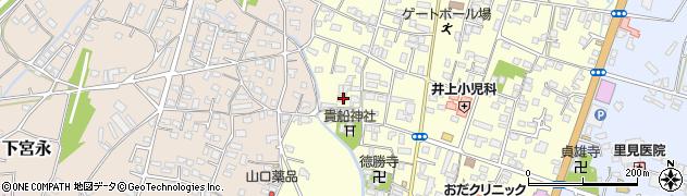 大分県中津市上宮永1144周辺の地図