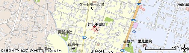 大分県中津市上宮永11周辺の地図