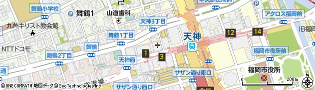 化成品商事株式会社 福岡営業所周辺の地図