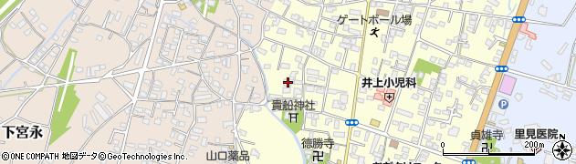 大分県中津市上宮永1148周辺の地図