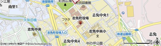 福岡県志免町(糟屋郡)周辺の地図