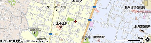 大分県中津市上宮永206周辺の地図