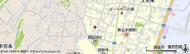 大分県中津市上宮永1149周辺の地図