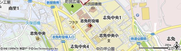 福岡県糟屋郡志免町周辺の地図