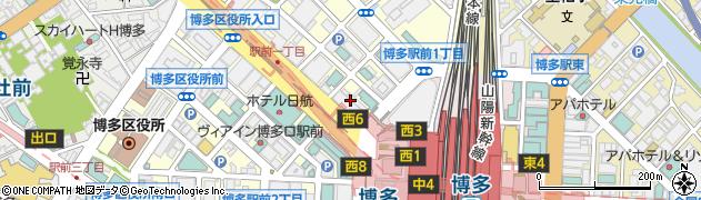 福岡県国民年金基金周辺の地図