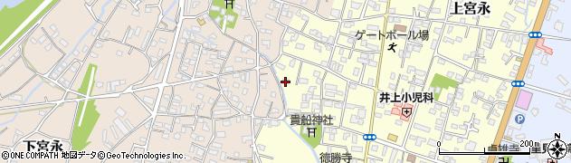 大分県中津市上宮永1159周辺の地図