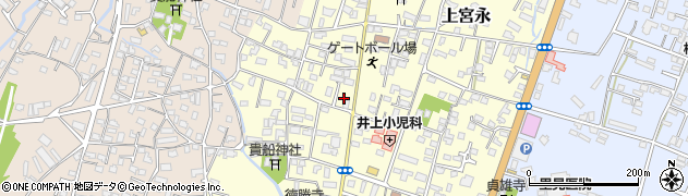 大分県中津市上宮永4周辺の地図