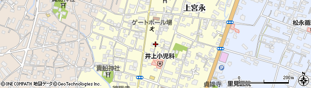 大分県中津市上宮永18周辺の地図