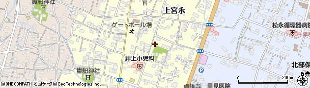 大分県中津市上宮永21周辺の地図