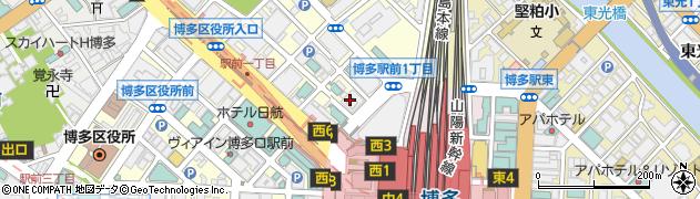 株式会社日本金融通信社福岡支局周辺の地図