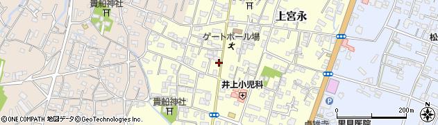大分県中津市上宮永17周辺の地図