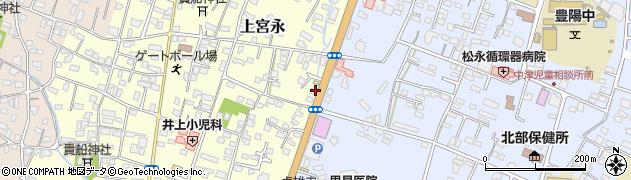 大分県中津市上宮永911周辺の地図