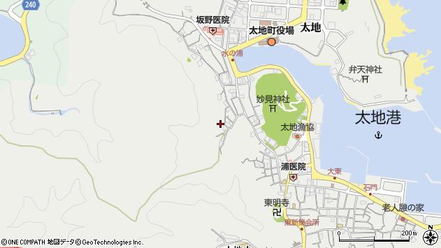 〒649-5171 和歌山県東牟婁郡太地町太地(その他)の地図