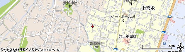 大分県中津市上宮永1166周辺の地図