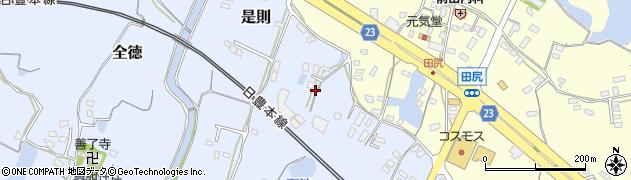 大分県中津市是則364周辺の地図