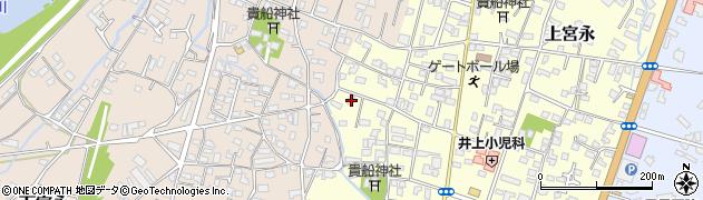 大分県中津市上宮永1165周辺の地図