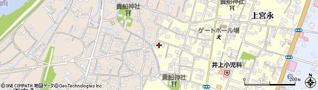 大分県中津市上宮永1164周辺の地図