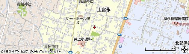 大分県中津市上宮永229周辺の地図
