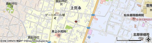 大分県中津市上宮永218周辺の地図
