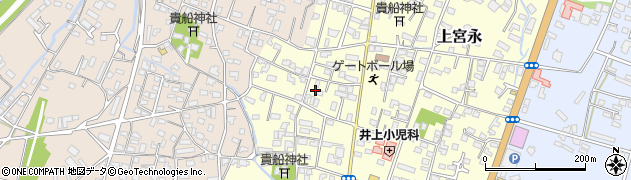 大分県中津市上宮永37周辺の地図