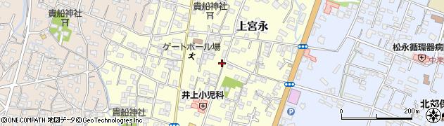 大分県中津市上宮永22周辺の地図