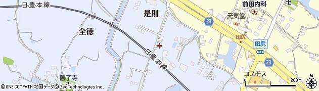 大分県中津市是則362周辺の地図
