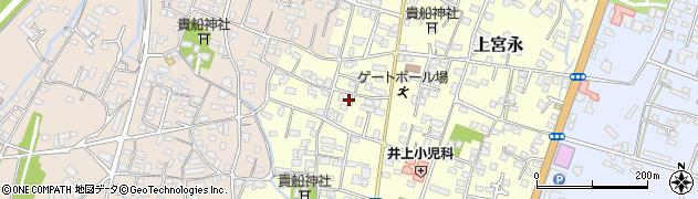大分県中津市上宮永39周辺の地図